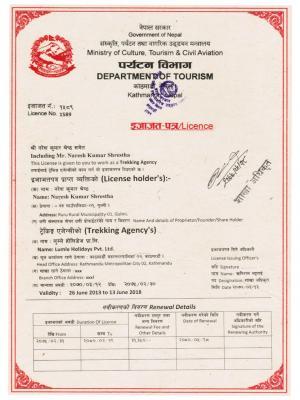 Company Licence