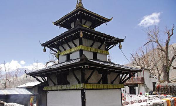 Pagoda Style Muktinath Temple